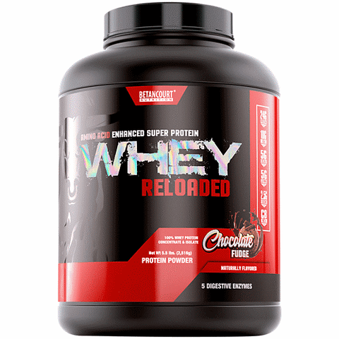 Betancourt Nutrition Whey Reloaded Chocolate Fudge 68 Servings