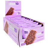 Cloud10 Marshmallow Crispy Treats (10 Bars) — Double Chocolate