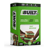 Built Protein & Energy Bars Mint Brownie Delite (18 Bars)
