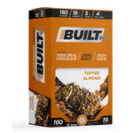 Built Protein & Energy Bars Toffee Almond (18 Bars)