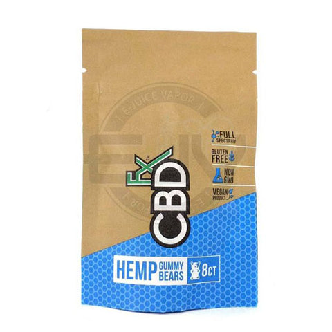 CBDfx Hemp Gummy Bears Pouch 40mg (8 Gummies)