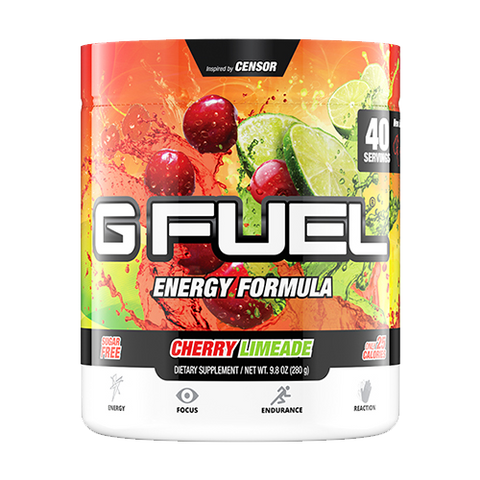 G Fuel Cherry Limeade Tub (40 Servings)