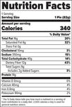 FINAFLEX Redefine Nutrition Oatmeal Protein Pie Awesome Apple Pie (10/Box) Nutrition Facts