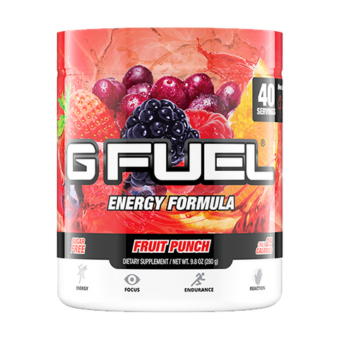 G Fuel Fruit Punch Tub (40 Servings)