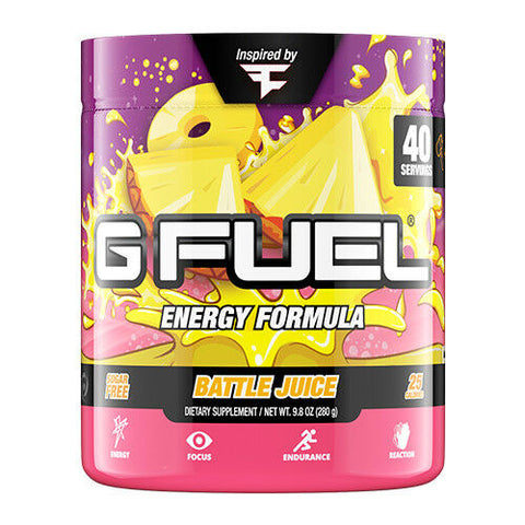 G Fuel FaZe Clan's Battle Juice Tub (40 Servings)