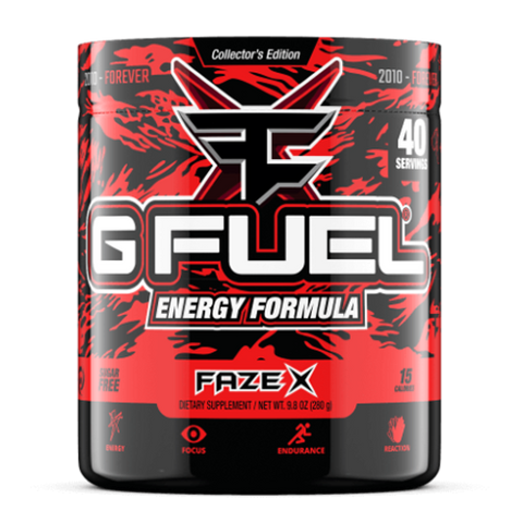 G Fuel Faze X Tub (40 Servings)