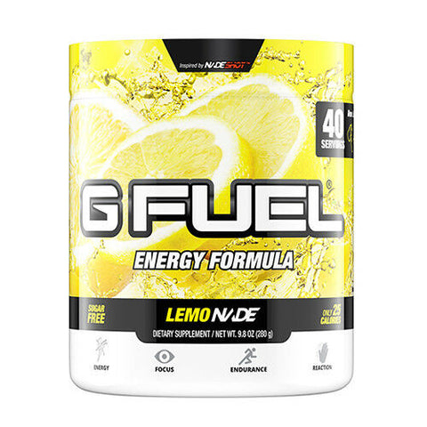 G Fuel Lemonade Tub (40 Servings)
