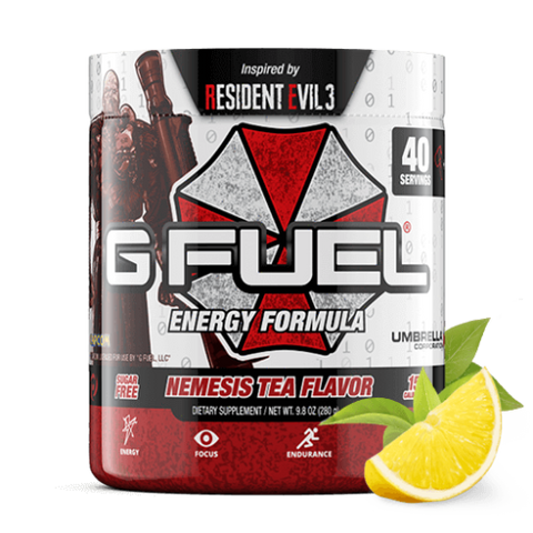 G Fuel Nemesis Tea Flavor Tub (40 Servings)