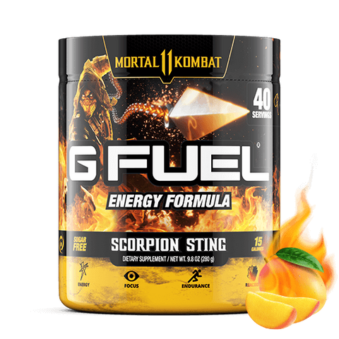 G Fuel Scorpion Sting Tub (40 Servings)