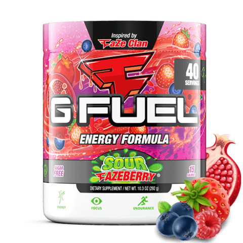G Fuel Sour Fazeberry (40 Servings)