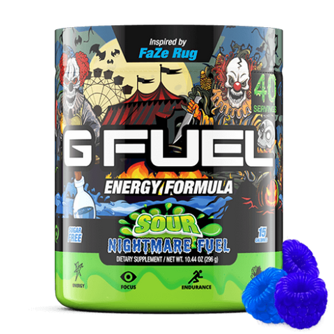 G Fuel Sour Nightmare Fuel Tub (40 Servings)