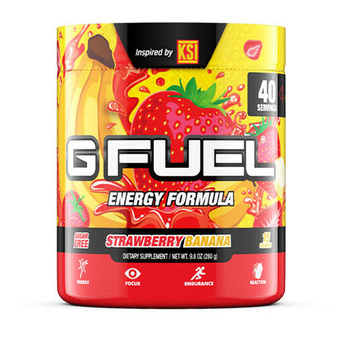 G Fuel Strawberry Banana Tub (40 Servings)