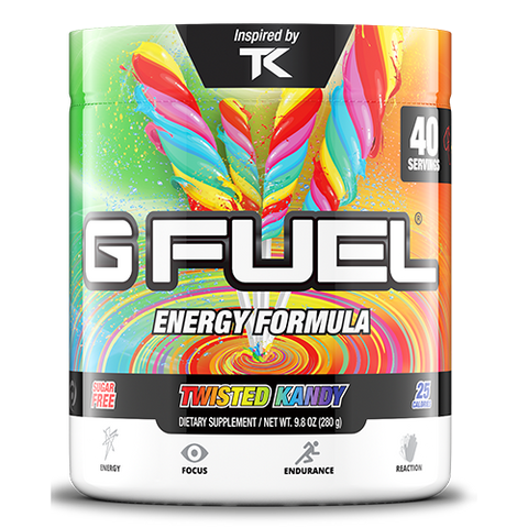 G Fuel Twisted Kandy Tub (40 Servings)