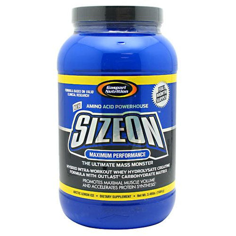 Gaspari Nutrition Maximum Performance SizeOn Arctic Lemon Ice 24 ea