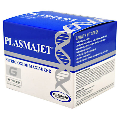 Gaspari Nutrition PlasmaJet (80 Tablets)