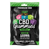 Hemp Bombs CBD Gummies 120mg (8 Count)