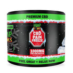 HempBombs High Potency CBD Pain Rub Cold Therapy Relief Gel 1000MG / 4oz Front