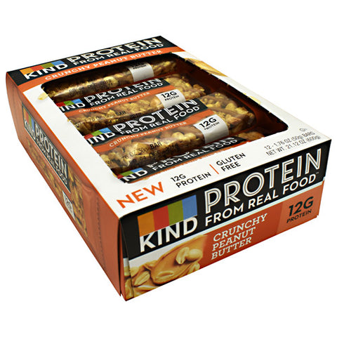 Kind Protein Bars 12 ea — Crunchy Peanut Butter