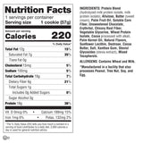 Lenny & Larry's The BOSS! Cookie Chocolate Chunk (2oz - Box of 12) Nutrition Facts