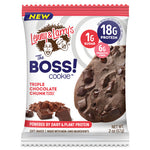 Lenny & Larry's The BOSS! Cookie Triple Chocolate Chunk (2oz - Box of 12)