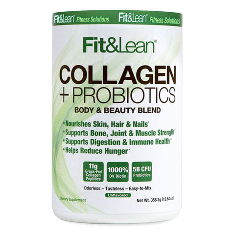 MHP Fit & Lean Collagen + Probiotics (30 Servings)