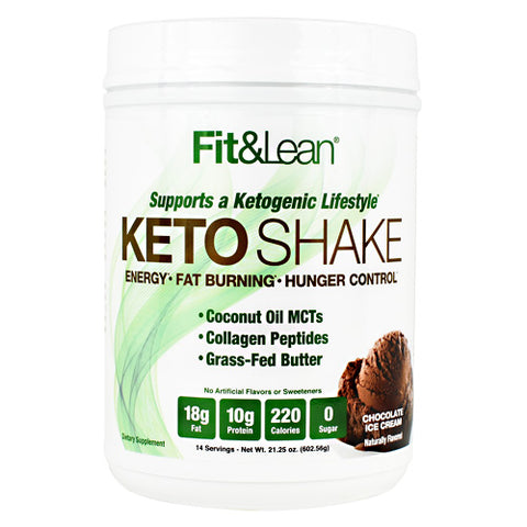 MHP Keto Shake 14 Servings — Chocolate Ice Cream