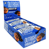 MTS Nutrition Outright Bar Chocolate Chip Almond Butter (12 Bars)