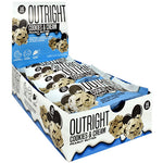 MTS Nutrition Outright Bar Cookies and Cream Peanut Butter (12 Bars) Nutrition Facts