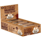 MTS Nutrition Outright Bar Mochaccino White Chocolate Peanut Butter Nutrition Facts (12 Bars)