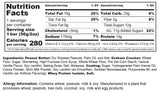 Muscle Sandwich Protein Bar Original Chocolate Nutrition Facts