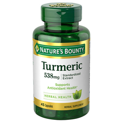 Nature's Bounty Turmeric 538 mg (45 Capsules)