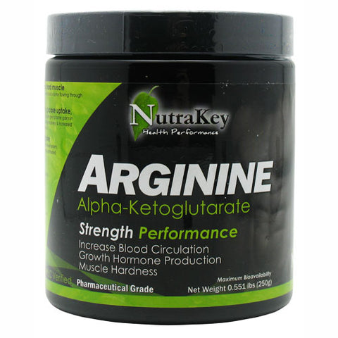 Nutrakey L-Arginine 1500mg Unflavored 250 Grams