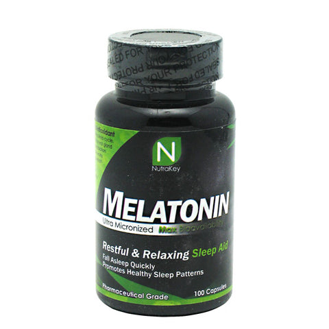 Nutrakey Melatonin 3mg (100 Capsules)