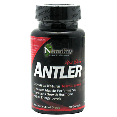 Nutrakey Red Deer Antler 250mg (60 Capsules)