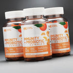 Optimum Nutrition Immunity + Probiotic Gummies (60 Gummies)