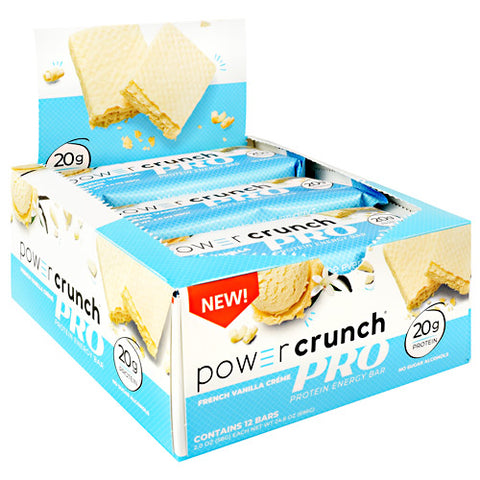 Power Crunch Pro 12 ea — French Vanilla Creme