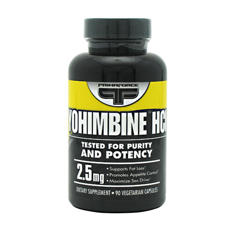 Primaforce Yohimbe HCI 2.5mg (90 Vegetarian Capsules)