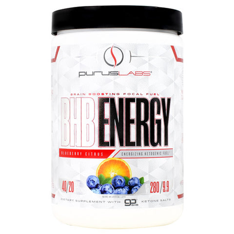 Purus Labs BHB Energy Blueberry Citrus 280 g