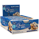 Quest Protein Bar 12 ea — Blueberry Muffin