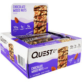 Quest Nutrition Protein Snack Bar Chocolate Mixed Nuts (12 Bars)