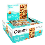 Quest Nutrition Protein Snack Bar Sea Salt Caramel Almonds (12 Bars)