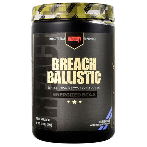 Redcon1 Breach Ballistic Blue Lemonade (30 Servings)