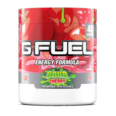 G Fuel Sour Cherry Tub (40 Servings)