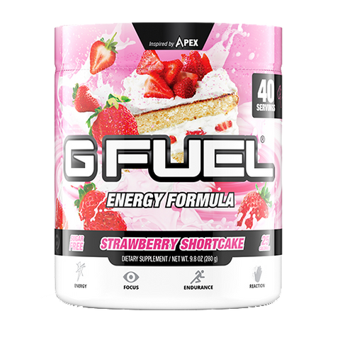 G Fuel Strawberry Shortcake Tub (40 Servings)