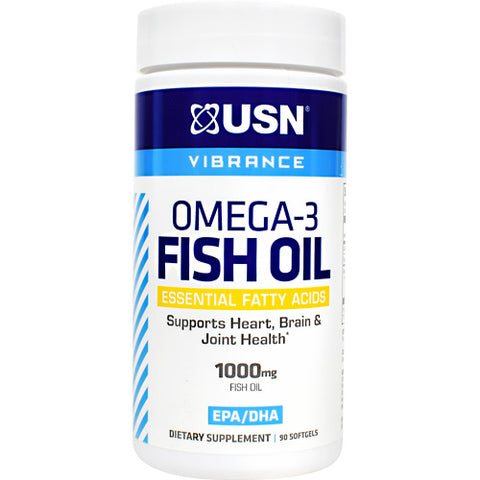 USN Vibrance Omega-3 Fish Oil (90 Softgels)