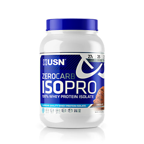 USN Zerocarb IsoPro Chocolate (25 Servings)