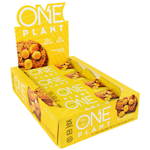 iSS Research ONE Plant Protein Bar Banana Nut Bread (12 Bars)