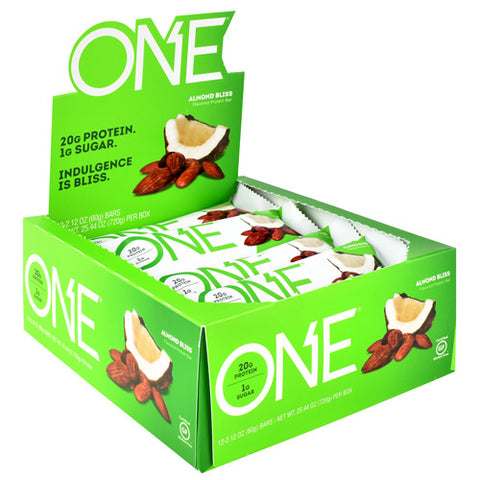 iSS Research ONE Protein Bar Almond Bliss (12 Bars)