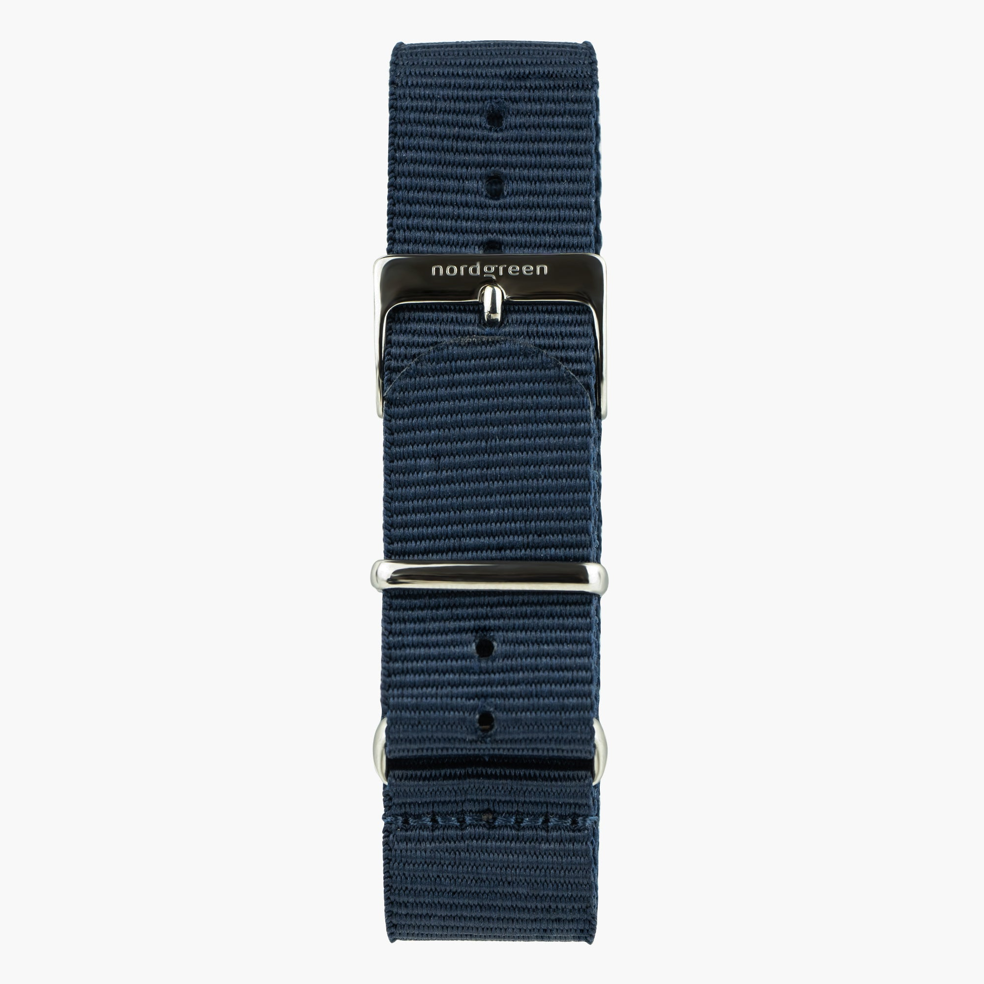 Image of   Navy Blå Nylon - Gun Metal - 40mm/42mm