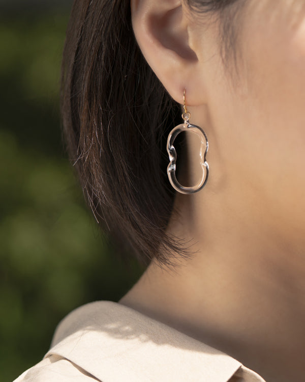 Hario Glass Earring - Twins